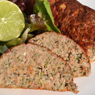 Turkey Meatloaf With Sage And Parsley.
