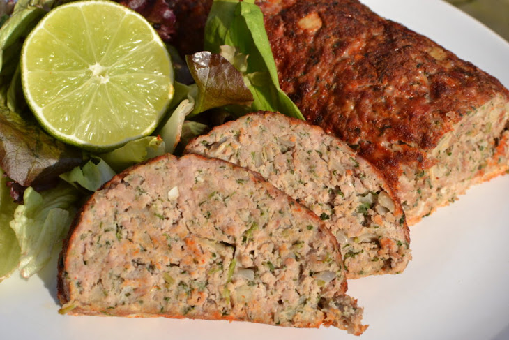 Turkey Meatloaf with Sage and Parsley Recipe