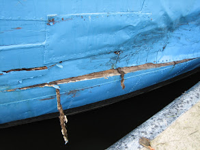 Photo: Hier is de Dombo naar binnen gevaren