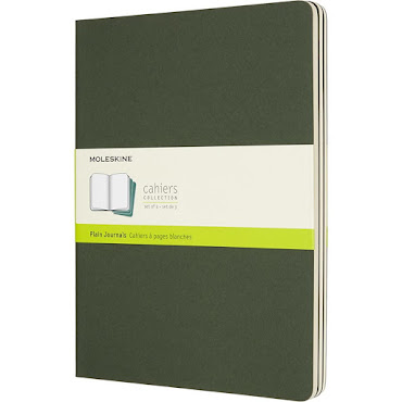 Cahier Journal XL Green