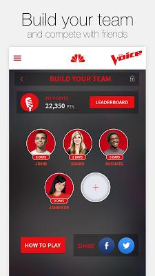 The Voice Official App - screenshot
