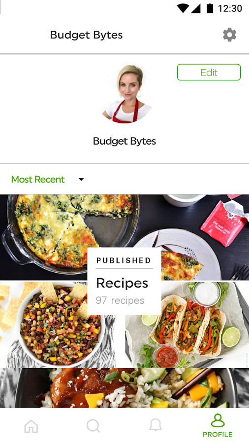 Budget Bytes - Delicious Recipes for Small Budgets- screenshot