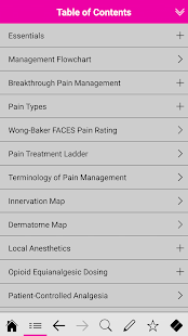 Pain Management pocketcards- screenshot thumbnail