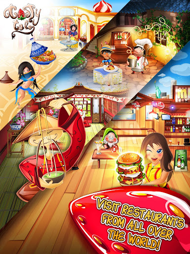 Tasty Tale: puzzle cooking game apkpoly screenshots 12