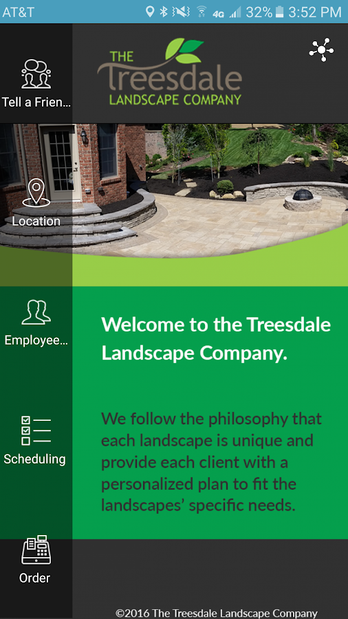 Treesdale Landscaping- screenshot