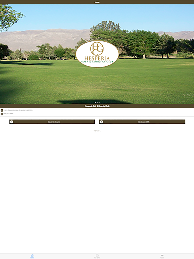 Hesperia Golf and Country Club - Aplicaciones Android en Google Play