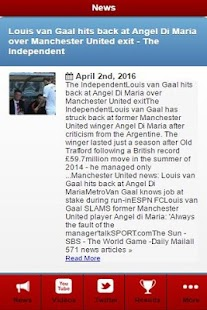 Man Utd News- screenshot thumbnail