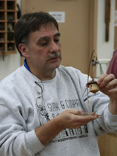 Photo: Tim also made a birdhouse ornament in the vein of Bob Rosand's demonstration last month.