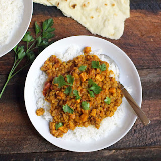 Red Lentil and Sweet Potato Dahl