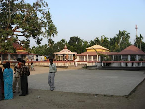 Photo: Kochua Dham Temple and premises (pictures inside the shrine or temple are not allowed)