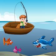 تحدي صيد السمك و القرش
