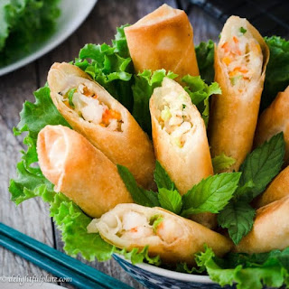 Seafood Spring Rolls Recipes.