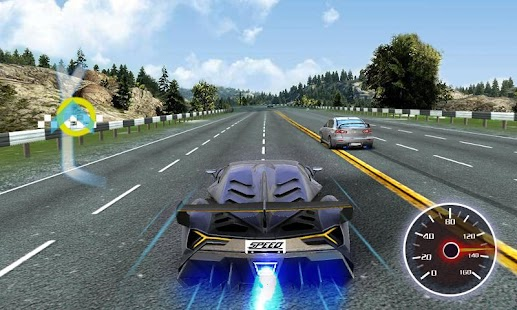 Driving in speed car- screenshot thumbnail