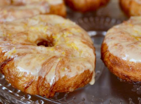 Easy Homemade  Desserts Rolls ( Cronuts) Recipe