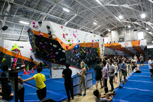 Manhattan's Biggest Rock Climbing Gym Just Opened In Harlem
