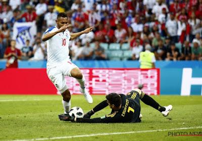 """Et pourtant, Courtois a eu du travail : """"Les balles entre les jambes, depuis Messi, j'ai appris!"""""""