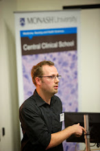 "Photo: Joffrey Degoutin (Peter Mac), ""Identification of new growth regulators modulating the Hippo pathway"""