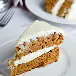 Gluten Free Carrot Cake with Orange Cream Cheese Frosting Recipe