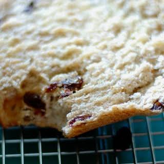 Cinnamon Raisin Bread.