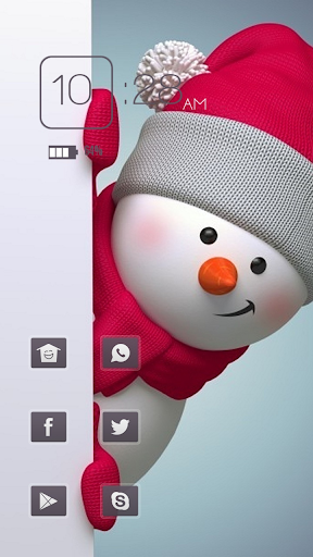 Lively Snowman