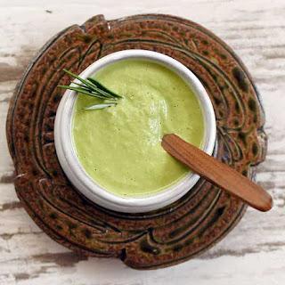 Kale-Stem Creamy Pasta Sauce.