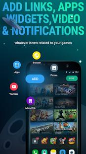 GameBox Launcher Beta - náhled