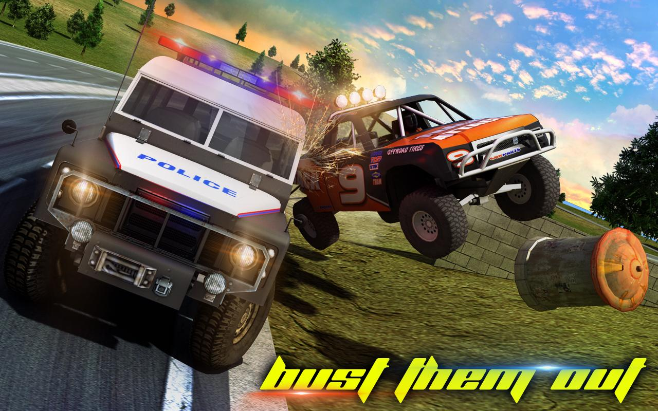 Police Car Smash 2017- screenshot