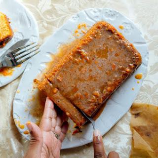 Sweet Potato Pound Cake With Spicy & Sweet Glaze