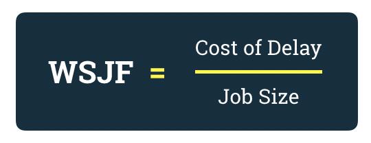 WSJF Methode im SAFe @ Scaled Agile, Inc.