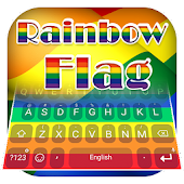 Rainbow Flag Theme&Emoji Keyboard