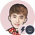 EXO SUHO Battery Widget