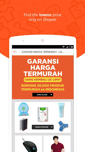 Shopee: No.1 Belanja Online Aplicaciones (apk) descarga gratuita para Android/PC/Windows screenshot