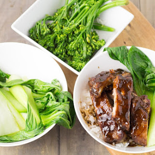 Sticky Chinese Pork Ribs.