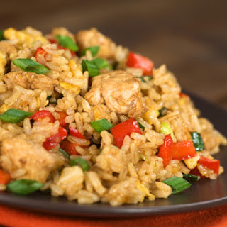 Clean Eating Chicken Fried Rice.