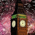 new year fireworks wallpaper icon