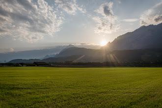 Photo: Ostatnie promienie słońca tego dnia.
