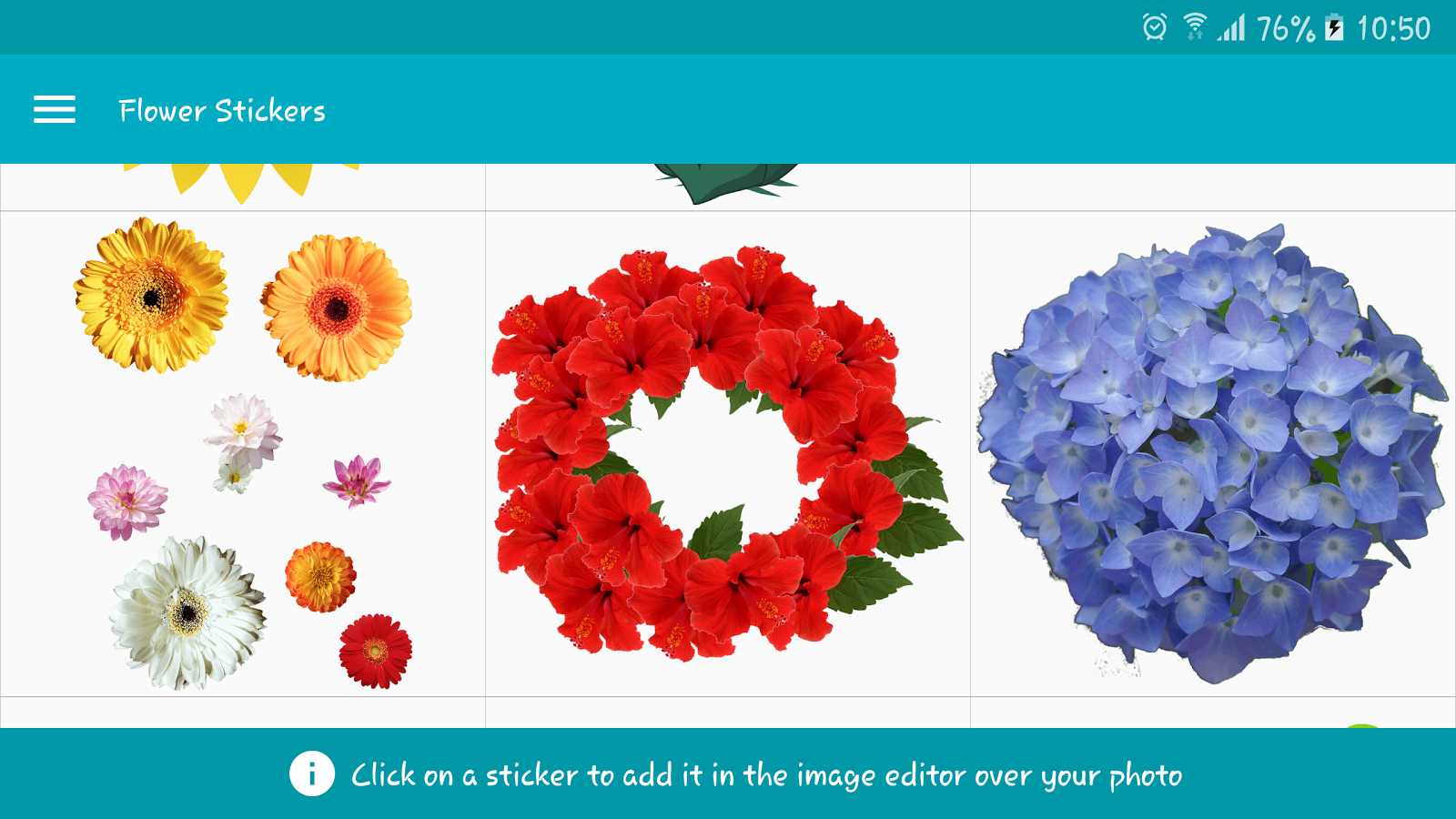 flowers stickers android apps on google play