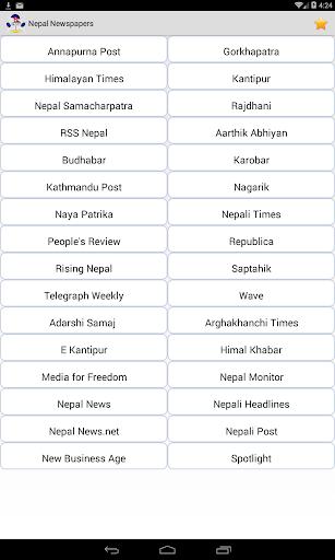 All Nepali Newspapers