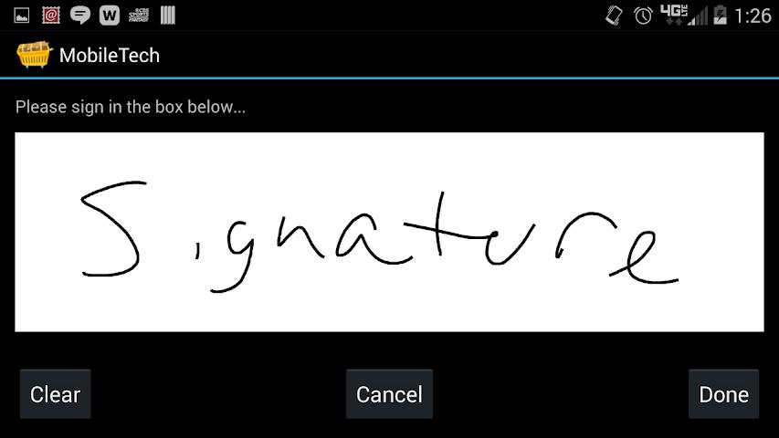 android GR MobileTech Screenshot 3
