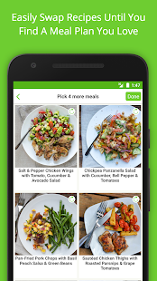 Mealime - Healthy Meal Plans- screenshot thumbnail