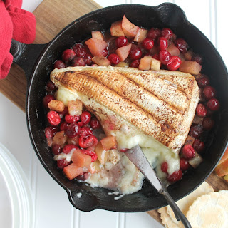 Cranberry and Apple Baked Brie