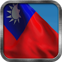 Taiwan Flag Live Wallpaper icon