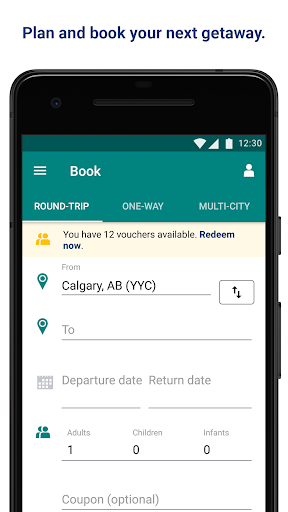 WestJet 4.3 app download 2