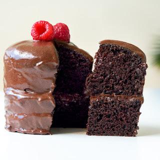 Vegan Chocolate Fudge Cake.