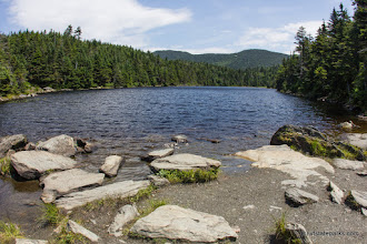Photo: Sterling Pond near Smugglers' Notch State Park by Taylor Drak