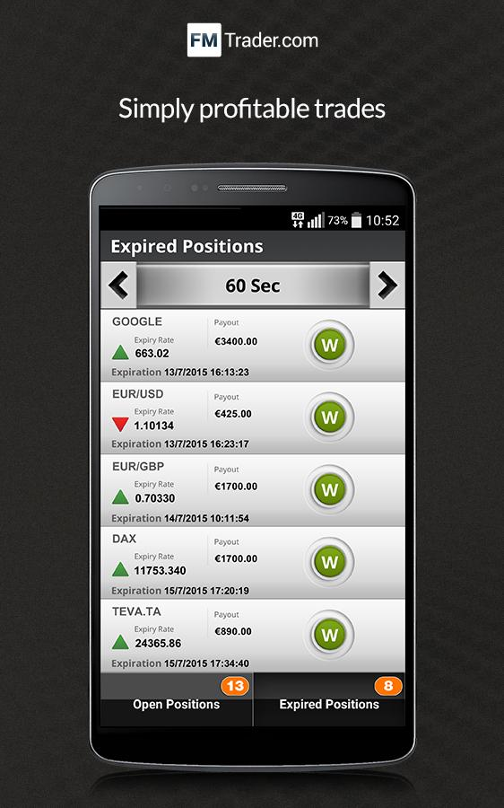 Best binary option app