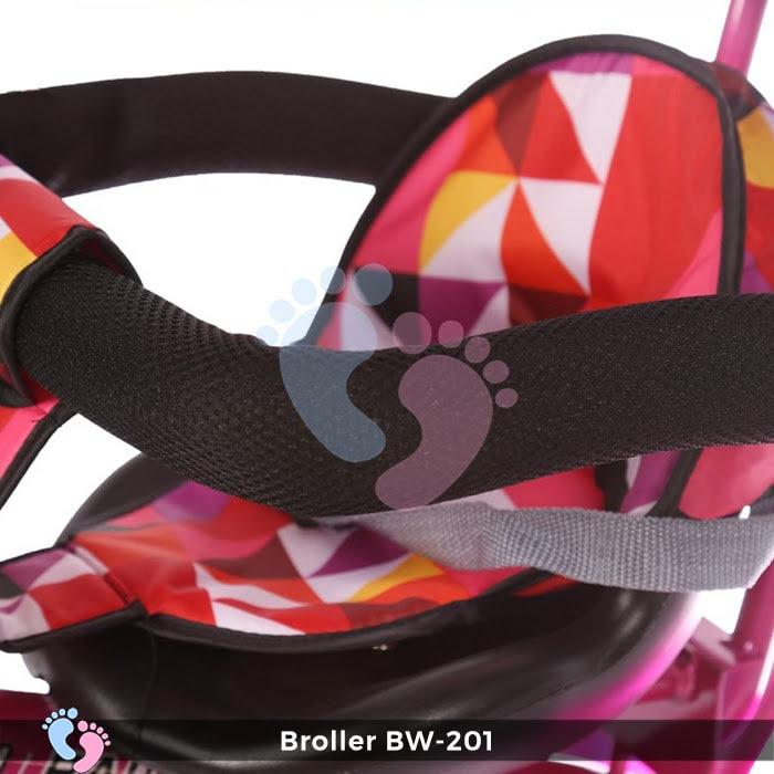 Xe đạp đẩy 3 bánh Broller XD3-201 13