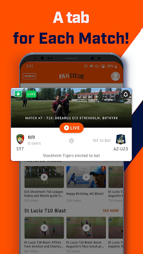 FanCode: IPL Live Scores, Cricket Videos & News ud83cudfcf 3.32.0 Screenshots 4