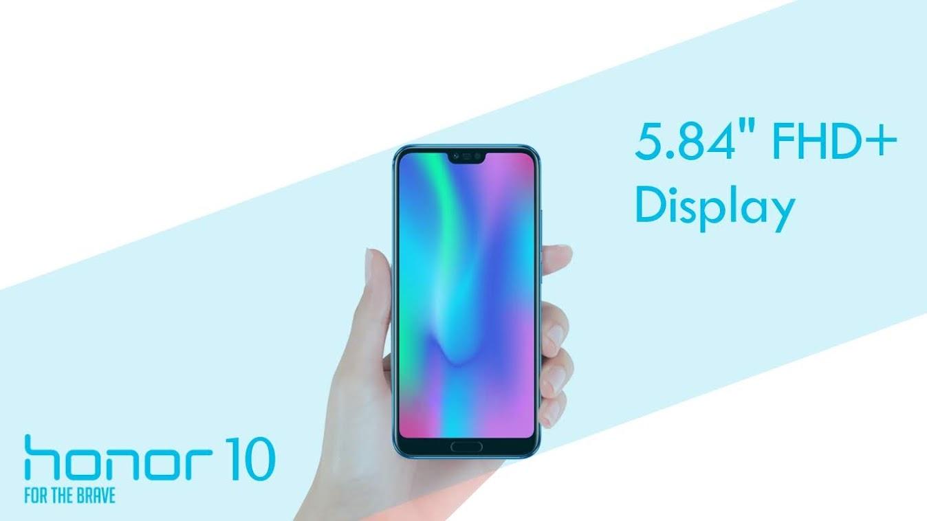 Huawei Honor 10 - Brief Description