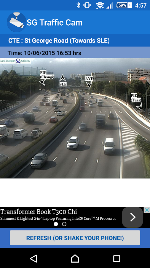 SG Traffic Cam- screenshot